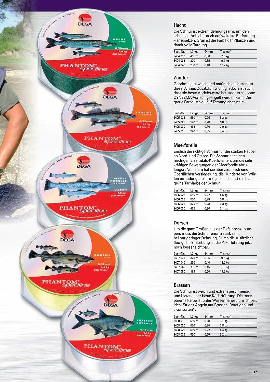 Phantom Speziline Hecht Zielfisch 0,35mm 9,4kg 320m