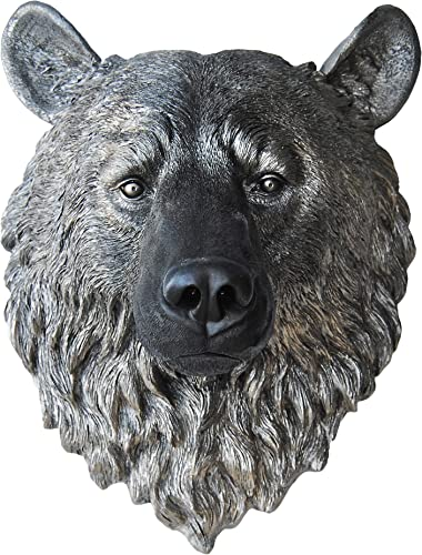 Near and Deer Faux Taxidermy Bear Head Wall Mount