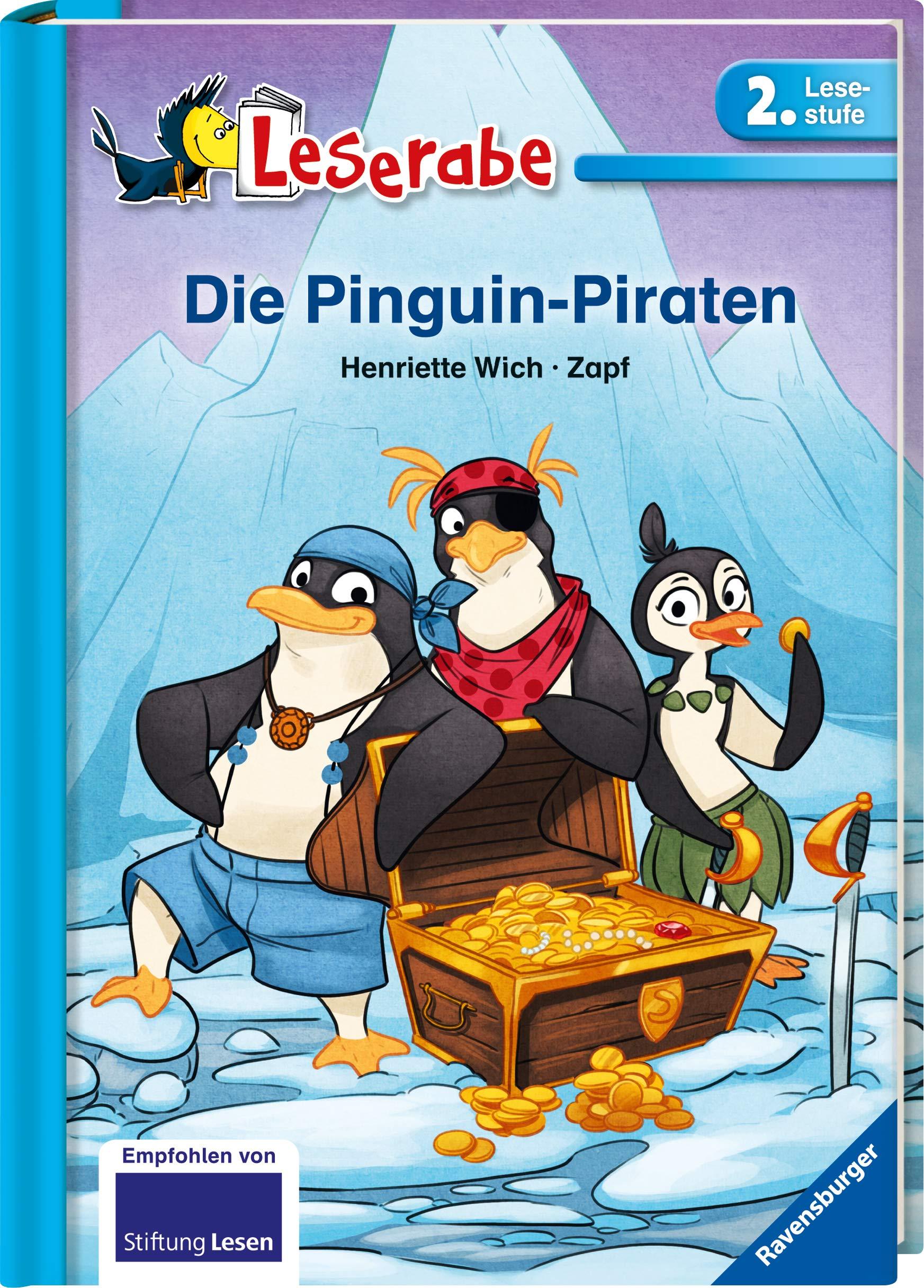 Die Pinguin Piraten Leserabe 2 Klasse Erstlesebuch Fur Kinder Ab 7 Jahren 2 Lesestufe Leserabe 2 Lesestufe Amazon De Wich Henriette Zapf Bucher