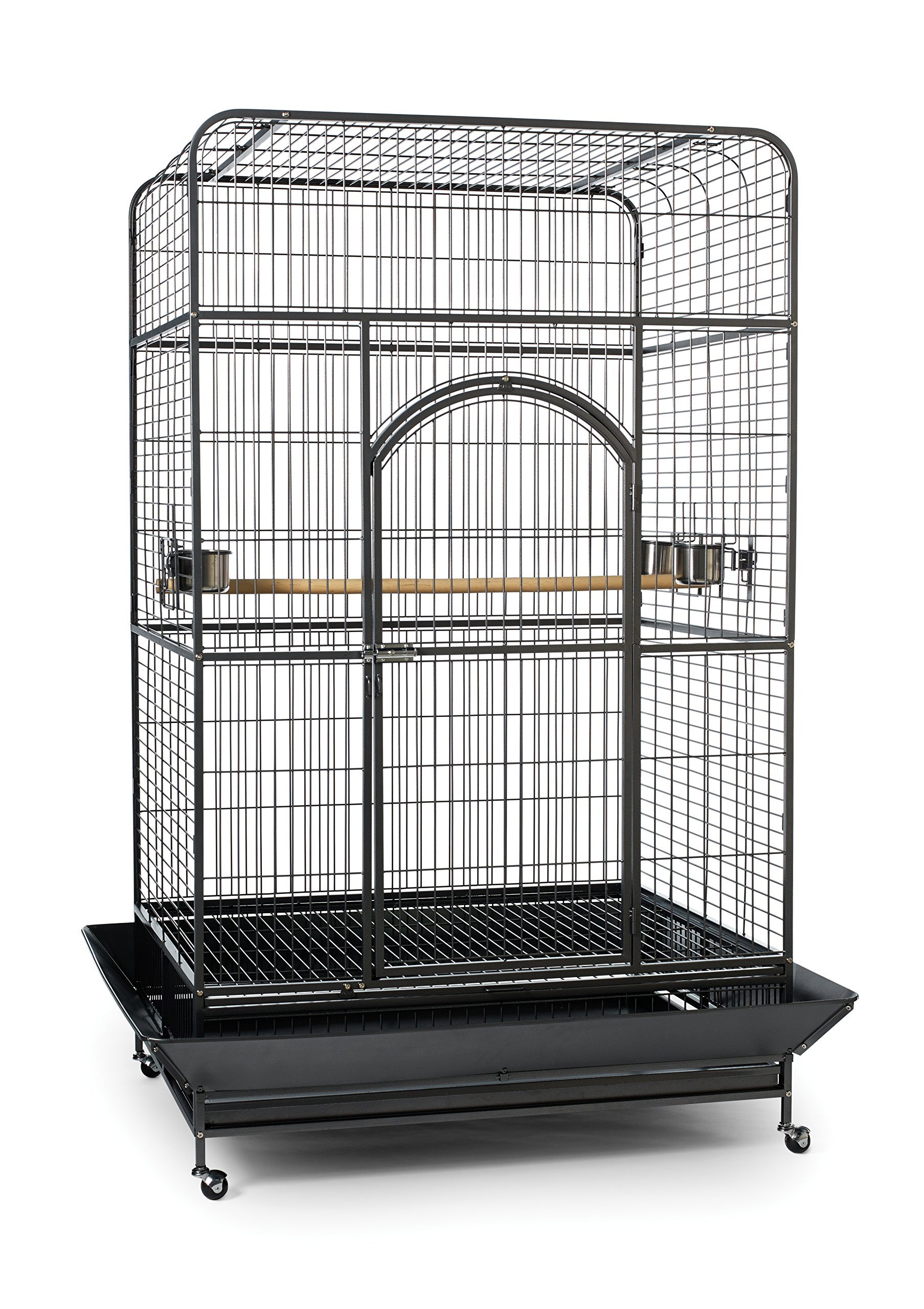 Prevue Pet Products Empire Bird Cage, X-Large, Black Hammertone