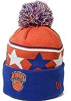 New Era NBA New York Knicks Pom Pom Star Knit Cap