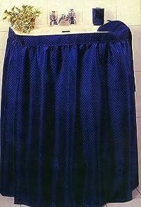 New Fabric Sink Skirt - Navy