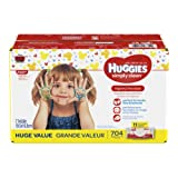 Amazon Price History for:HUGGIES Simply Clean Fragrance-Free Baby Wipes Soft Pack, 704 Count