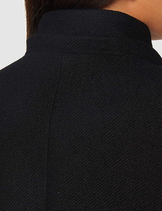 Morgan Manteau Caban Boucles M/étal Capuche Gcalis Abrigo de mezcla de lana para Mujer