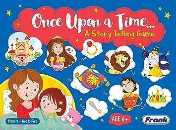 Frank Once Upon a Time Story - Juego de Mesa para niños de 6 años en adelante: Amazon.es: Juguetes y juegos