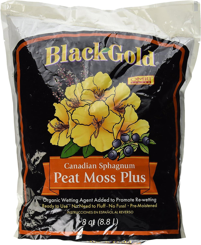 Sun Gro Horticulture Black Gold Peat Moss Plus