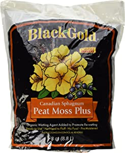 Sun Gro Horticulture Black Gold Peat Moss Plus