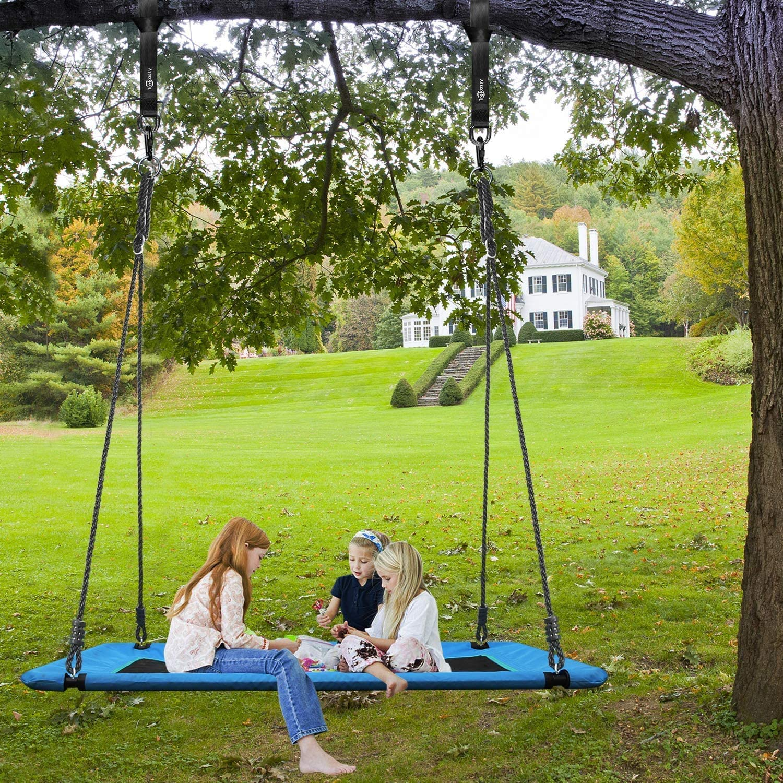 Trekassy 700lb Giant Platform Tree Swing for Kids Waterproof