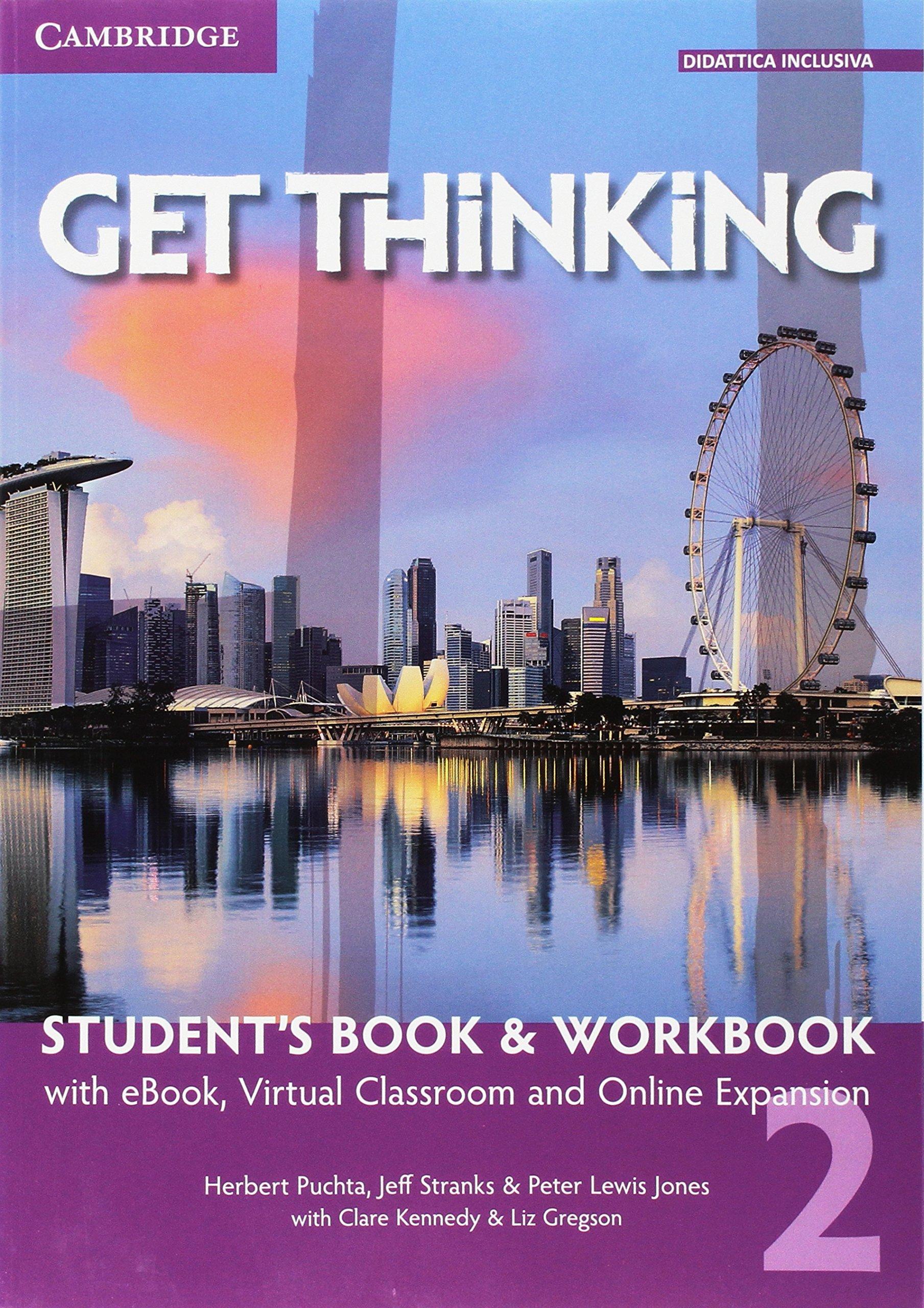 Get Thinking – Student's Book & Workbook 2, libro di inglese per scuole superiori