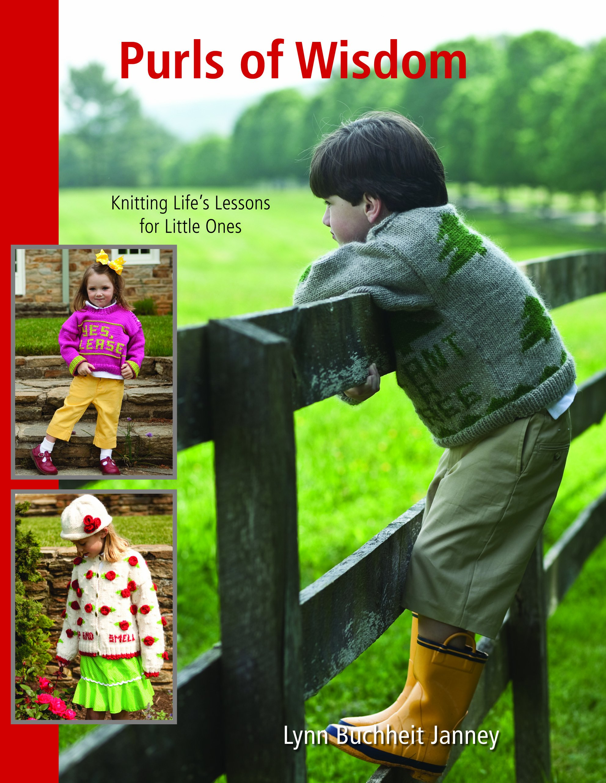 Purls of Wisdom: Knitting Life's Lessons for Little Ones
