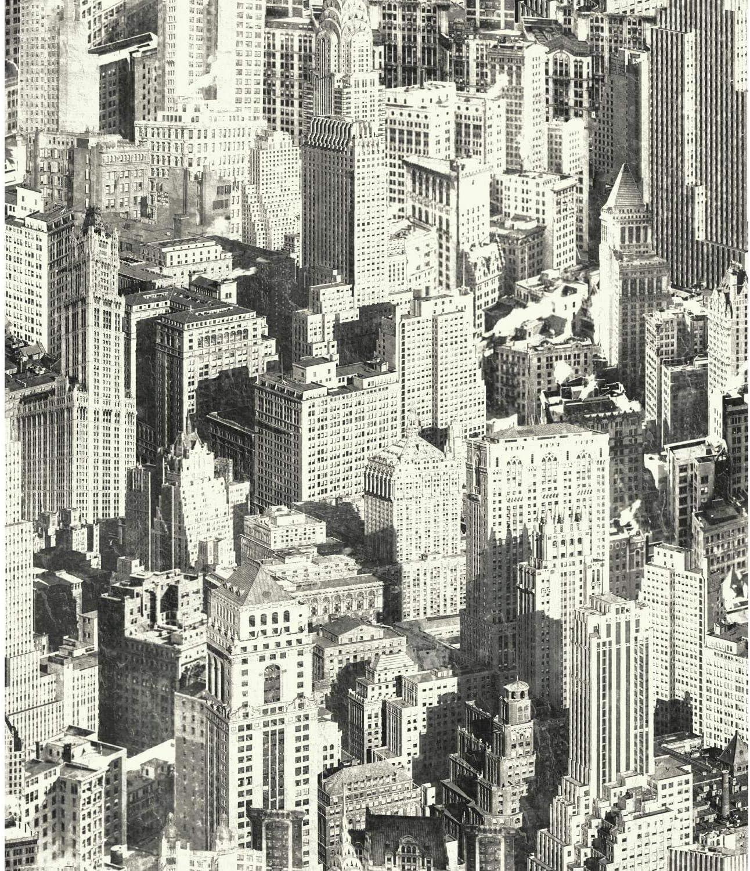 Roommates New York City Peel And Stick Wallpaper Amazon Com