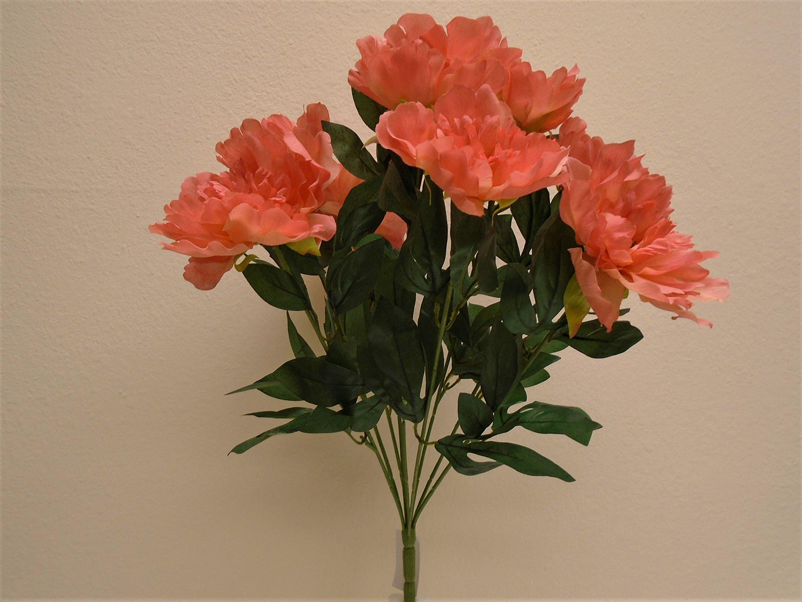 """silk flower arrangements blue giant sunflower spray artificial silk flower 33"""" stem 839 bl"""