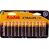 Kodak XTRALIFE AA 24 Pack Alkaline Batteries