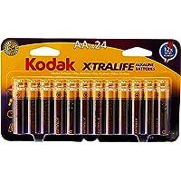 Kodak XTRALIFE AA 24 Pack Alkaline Batteries