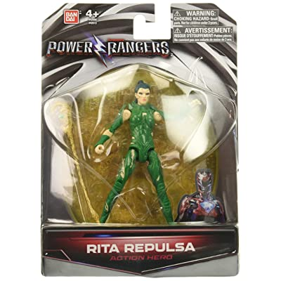 Power Rangers Movie 5-Inch Rita Repulsa Action Figure: Toys & Games