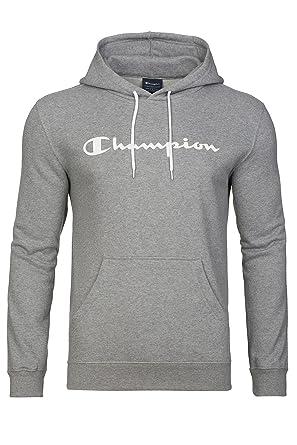 exzellente Qualität zu verkaufen gute Qualität Champion Pullover Herren Kapuzenpullover Hoodie Grau 210541 ...