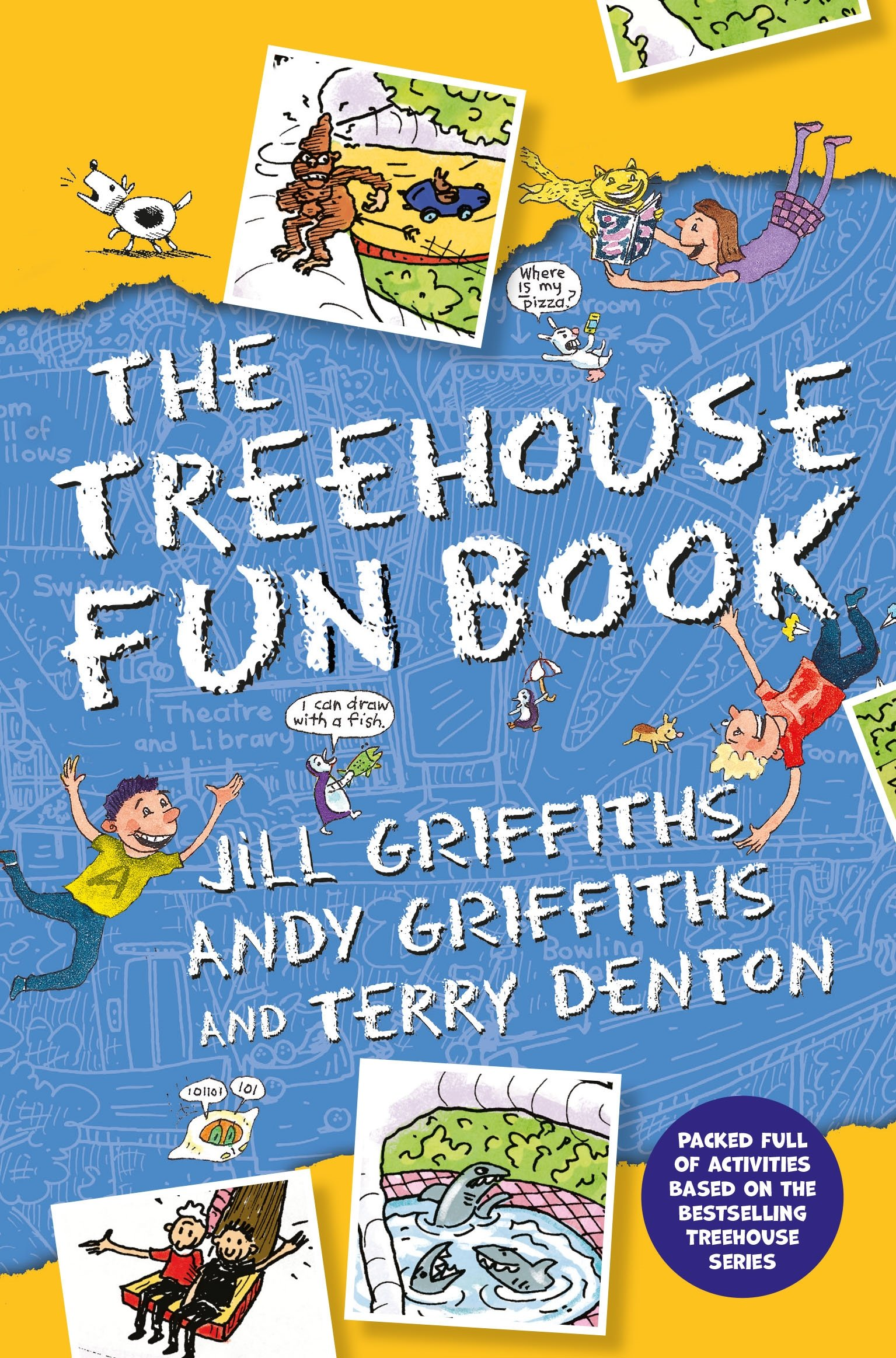 Andy Griffiths Treehouse Part - 35: The Treehouse Fun Book: Amazon.co.uk: Andy Griffiths: 9781509848546: Books