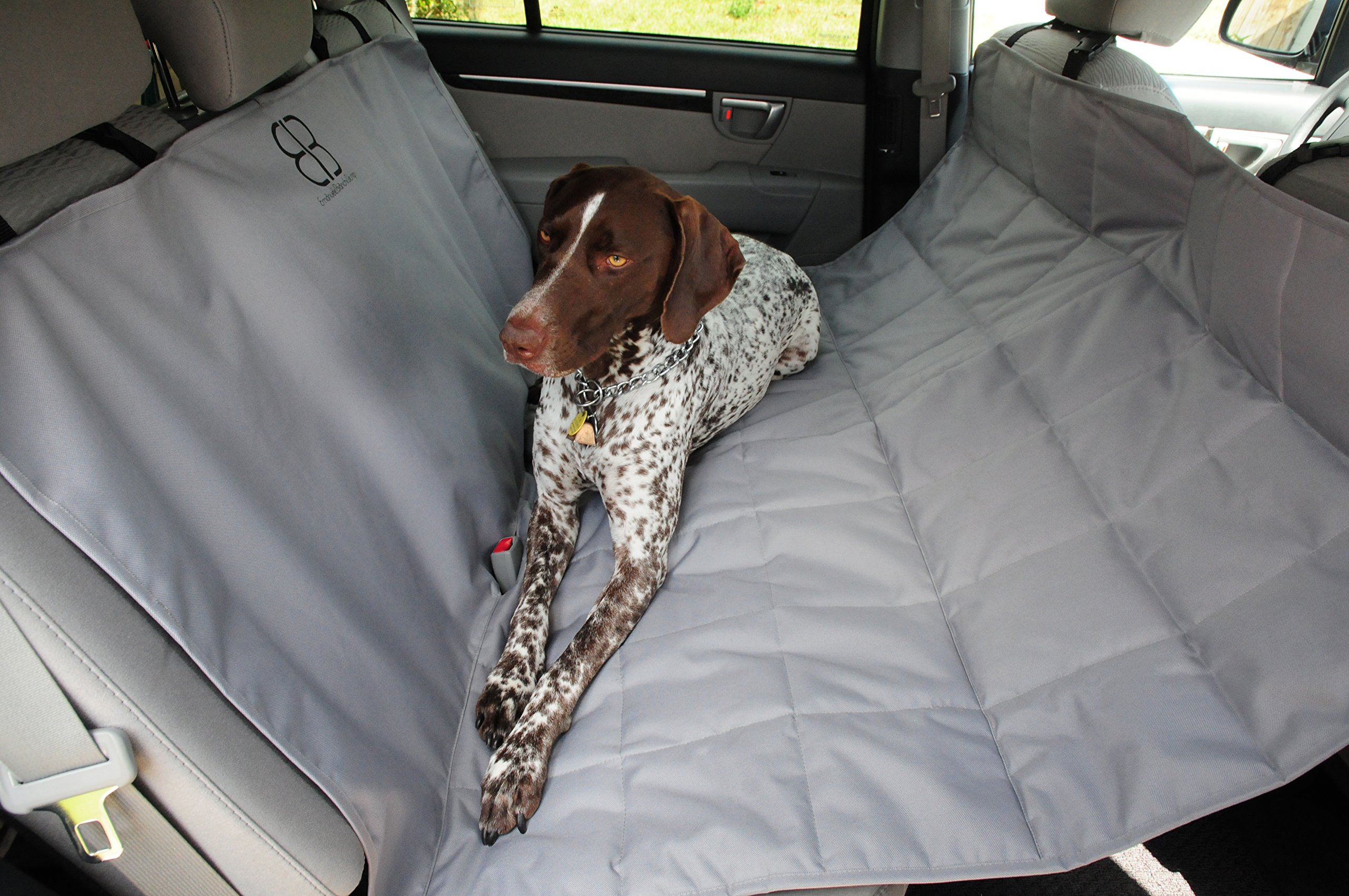 Petego Dog Car Seat Protector Hammock Gray X Large Product Image