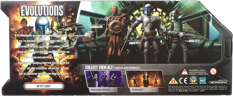 The Fett Legacy STAR WARS 30th Anniversary Battle Packs Evolutions