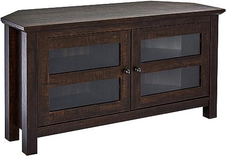 Amazon.com: Rockpoint Adonia - Mueble esquinero de madera ...