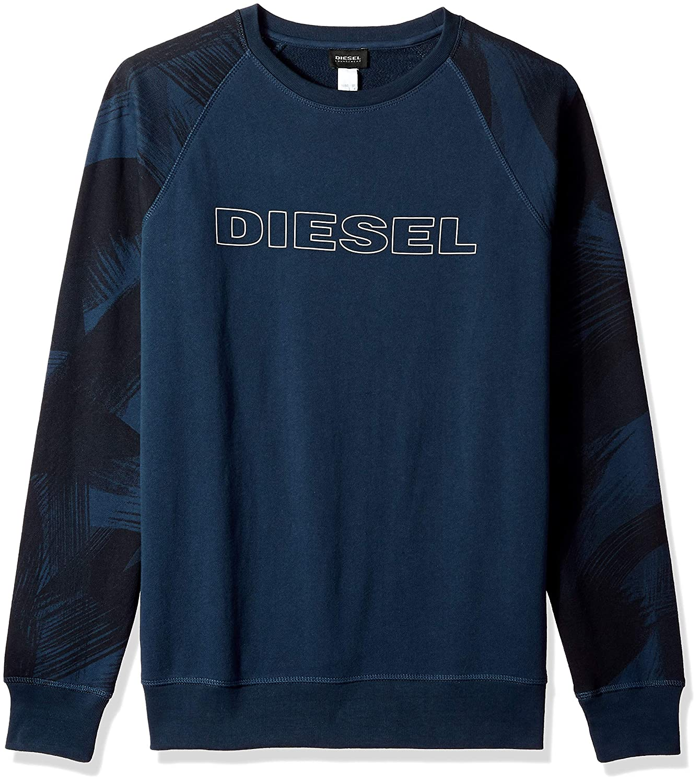 Diesel Mens Umlt-max Sweat-Shirt Pajama Top