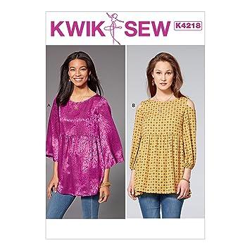 Kwik Sew Mustern k4218os Damentops, Tissue, mehrfarbig, 17 x 0,5 x ...