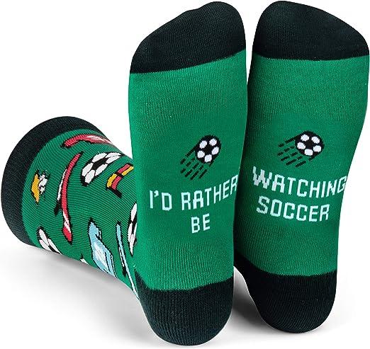 Novelty Soccer Socks
