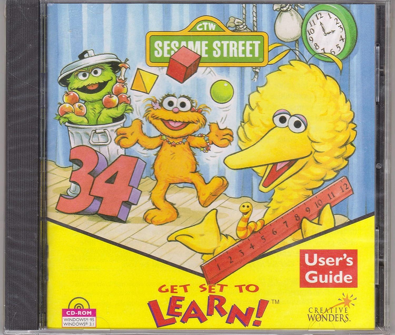 69 Sesame Street Art Workshop Cd Rom