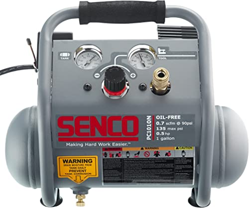 Senco PC1010N 1 2 Hp Finish Trim Portable Hot Dog Compressor