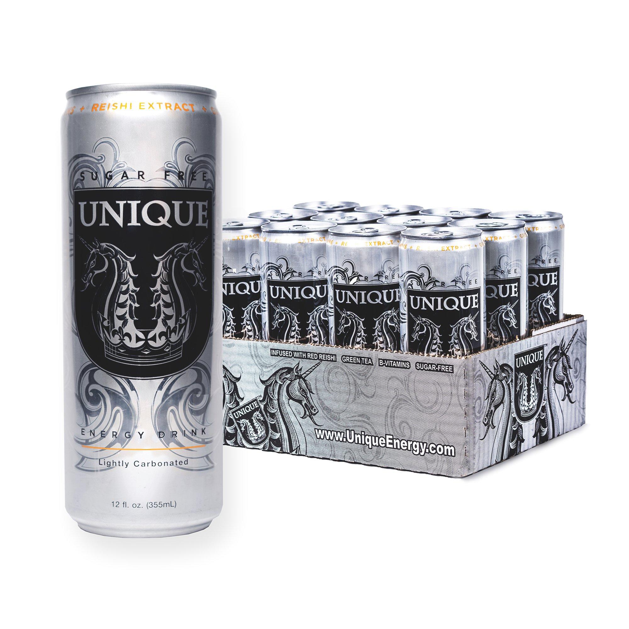 Amazon Com Unique Energy Drink Pure Cane Sugar 8 4 Fl