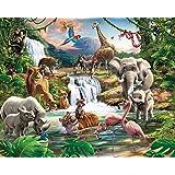 Walltastic WT4016 Jungle Adventure - Mural de papel pintado