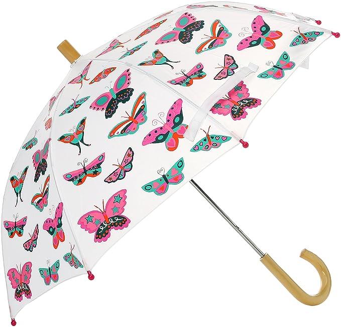 Hatley Printed Umbrella, Paraguas para Niñas, Pink (Multicoloured Rainbow Unicorns), Talla única: Amazon.es: Ropa y accesorios