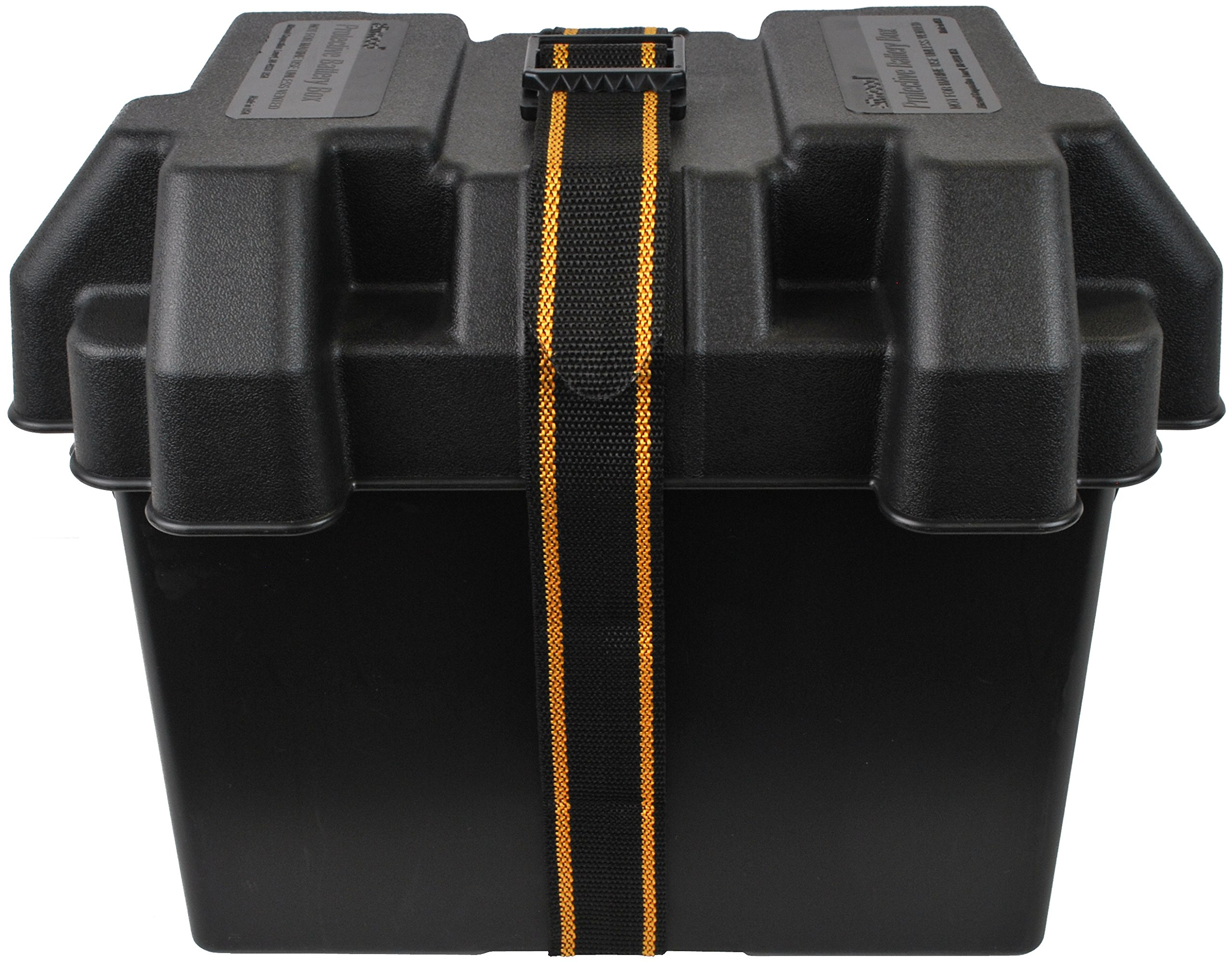 attwood Standard Battery Box Non-Vented Black