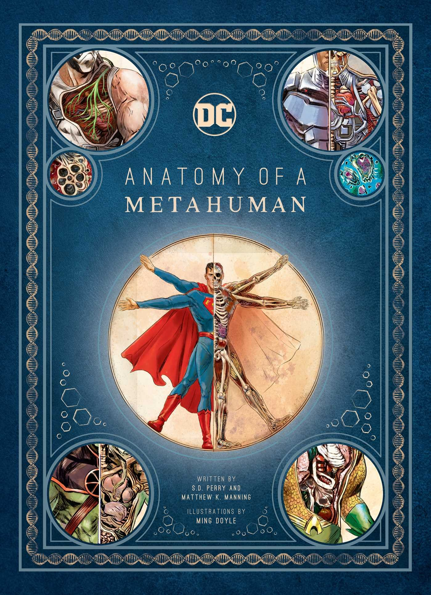 DC Comics: Anatomy of a Metahuman by Insight Editions