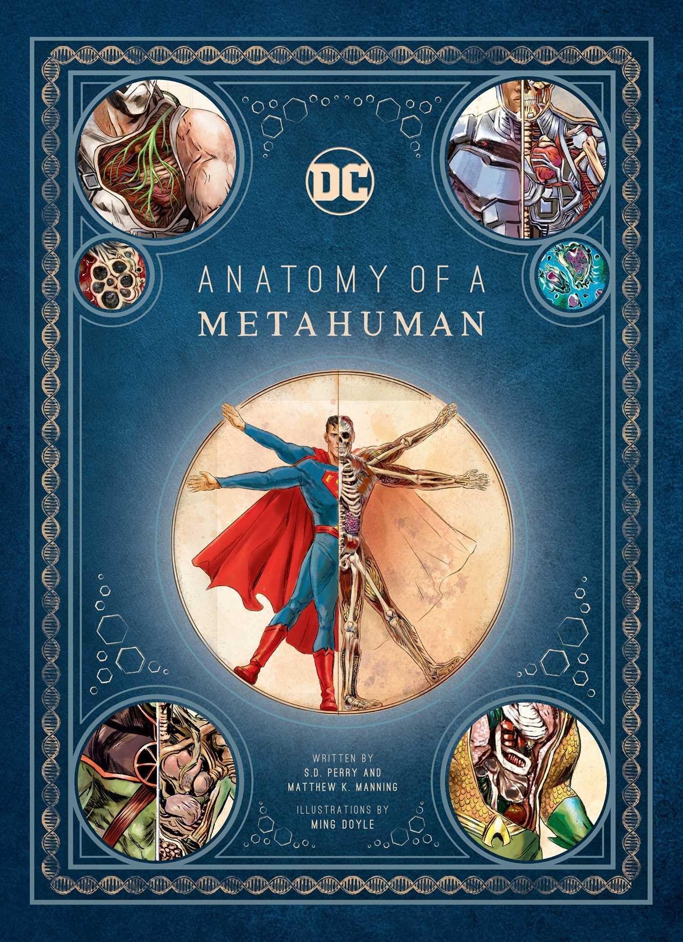 Read Dc Comics Anatomy Of A Metahuman Ebooks Free Online