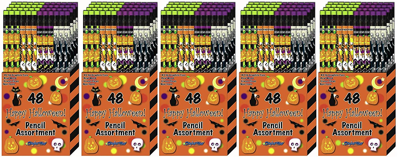 DesignWay Halloween Pencil, 48-Pack DesignWay Products 78096