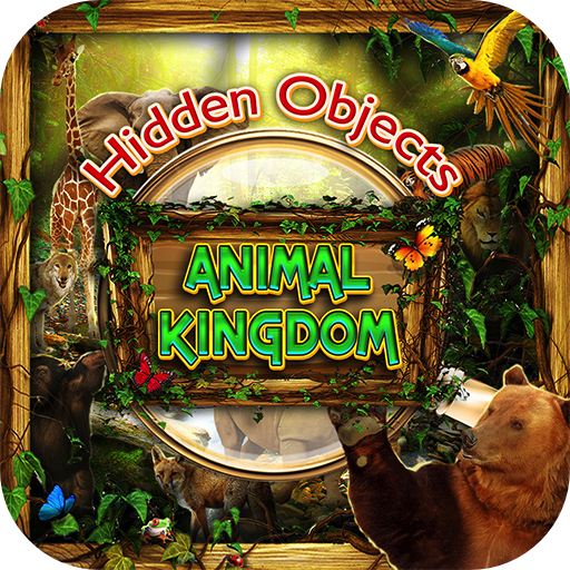 Hidden Objects Animal Kingdom - Worldwide Animals Seek & Find Object Puzzle Photo Pic Travel Adventure Time & Spot the Difference ()