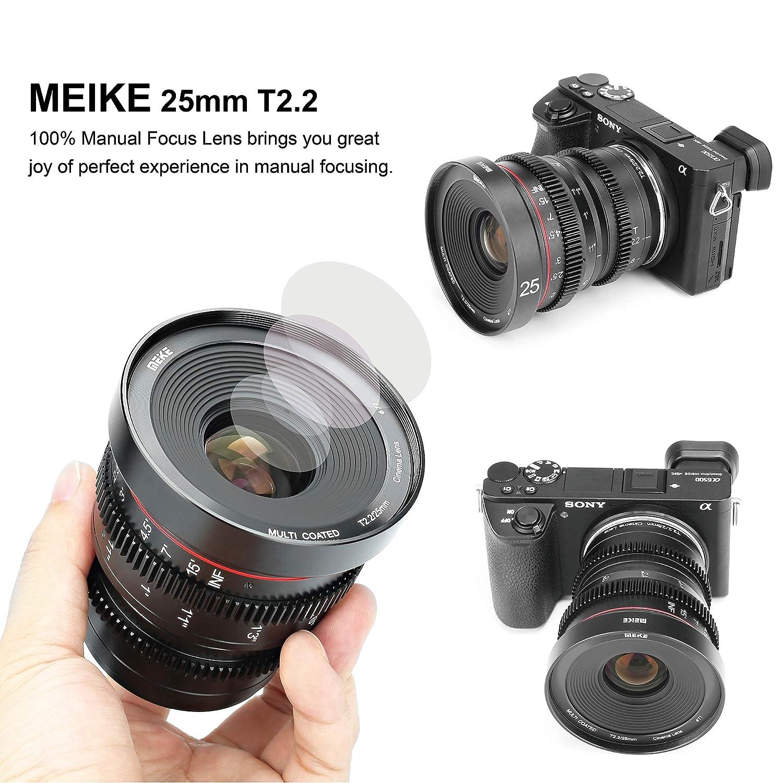 Lenses Electronics Meike 25mm T2.2 Large Aperture Wide Angle ...
