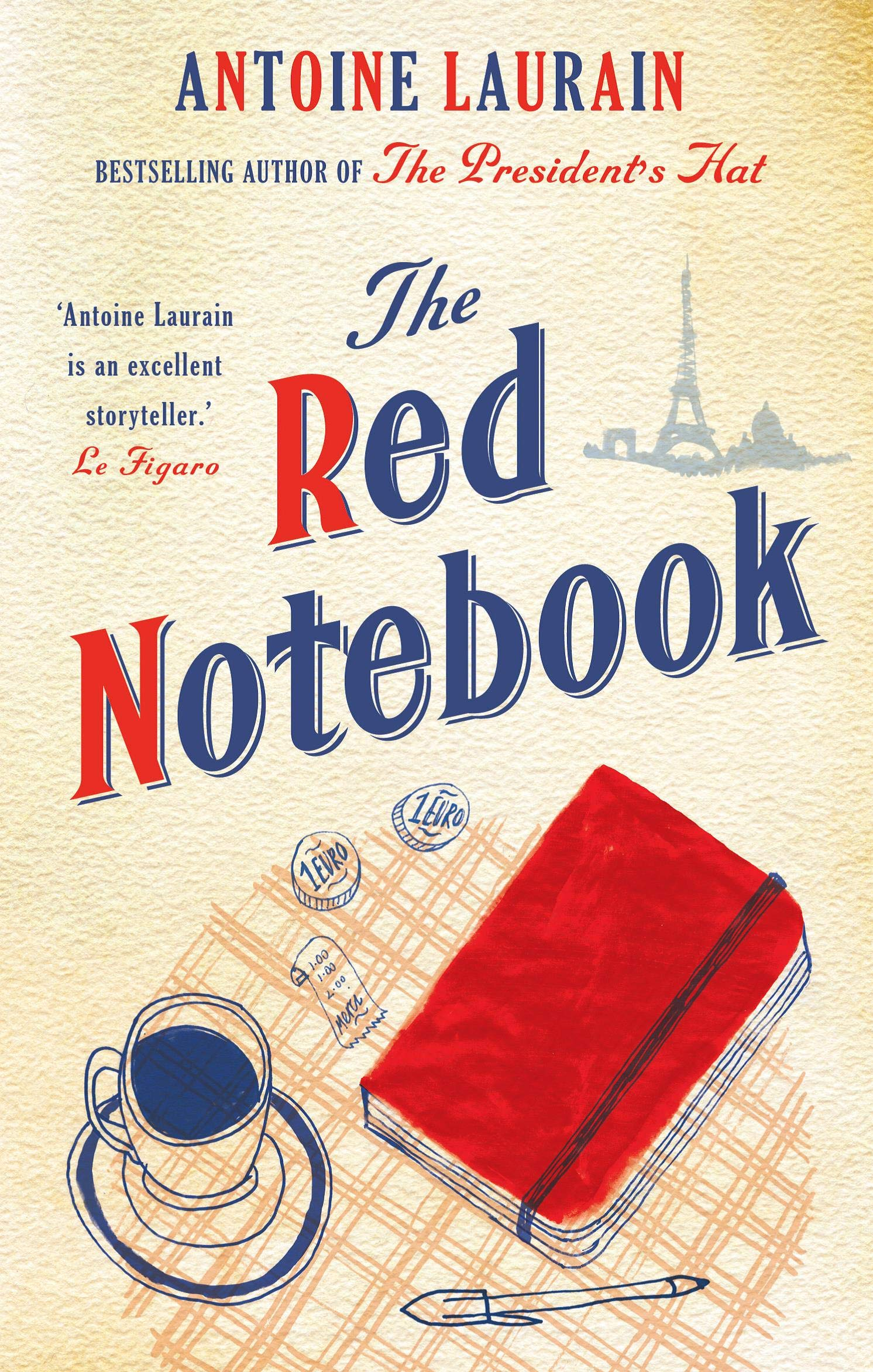 foto de The Red Notebook: Laurain, Antoine, Aitken, Jane, Boyce, Emily ...