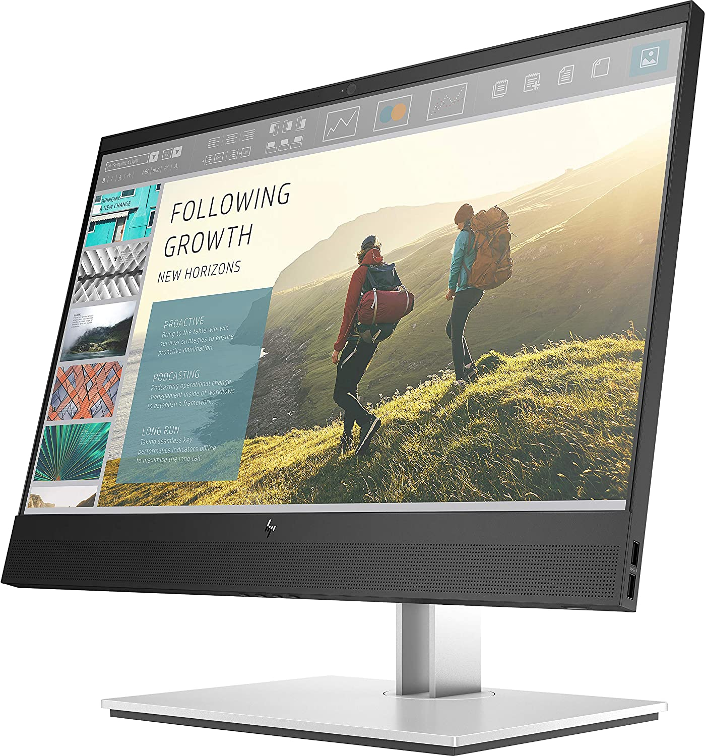 HP Prodisplays 7AX23AA Monitor, Nero