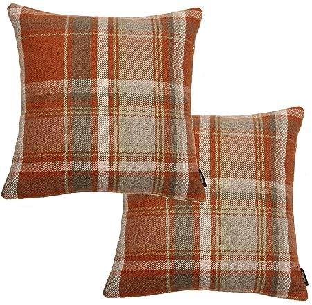 1x 18x12 burnt orange velvet scatter Brand new. bolster cushion cover