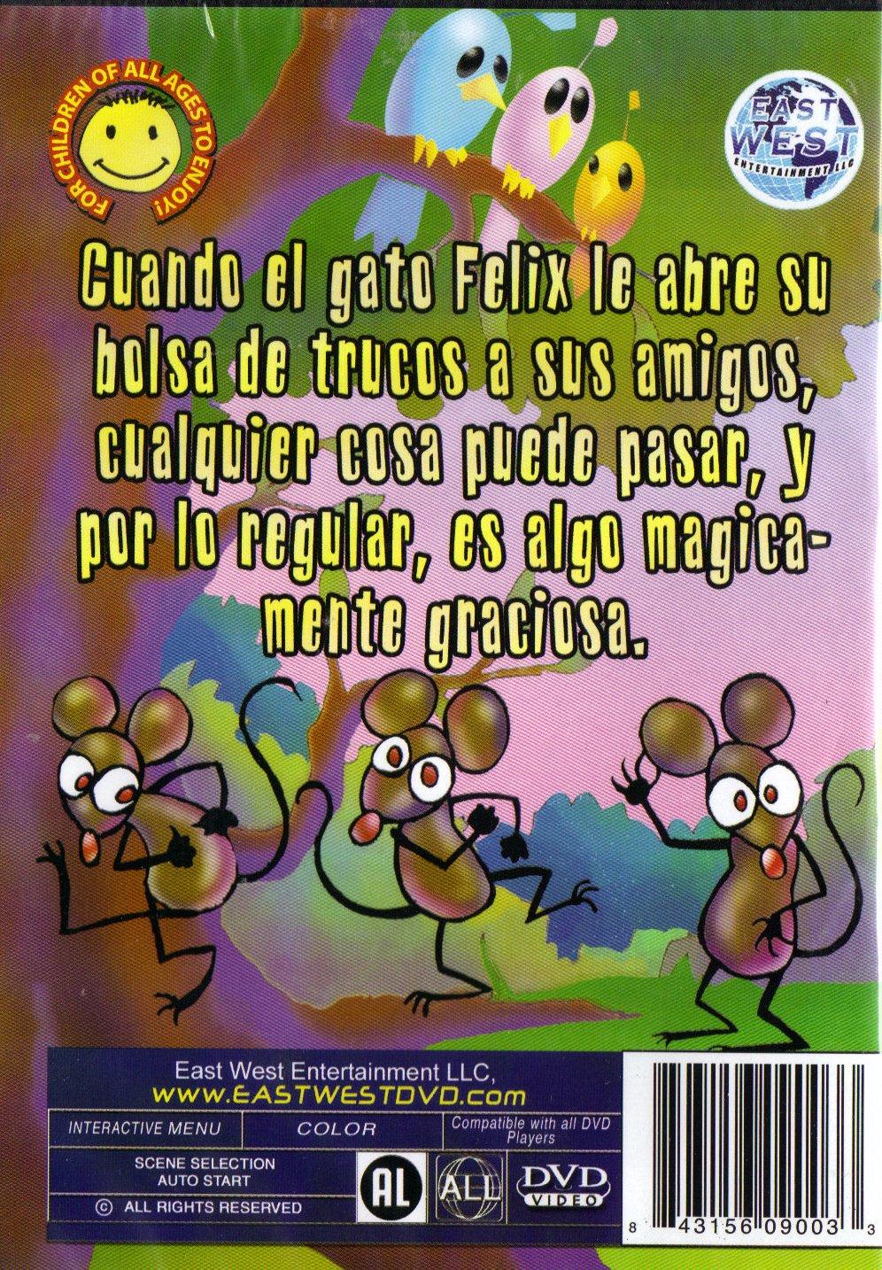 Amazon.com: Felix el Gato y sus Amigos #1: Felix The Cat+The Ant and The Grasshopper (La Cigarra y La Hormiga)+The Little Browed Dog (El Perro de la Frente ...