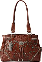 American West Lady Lace Multi Compartment Shoulder Bag