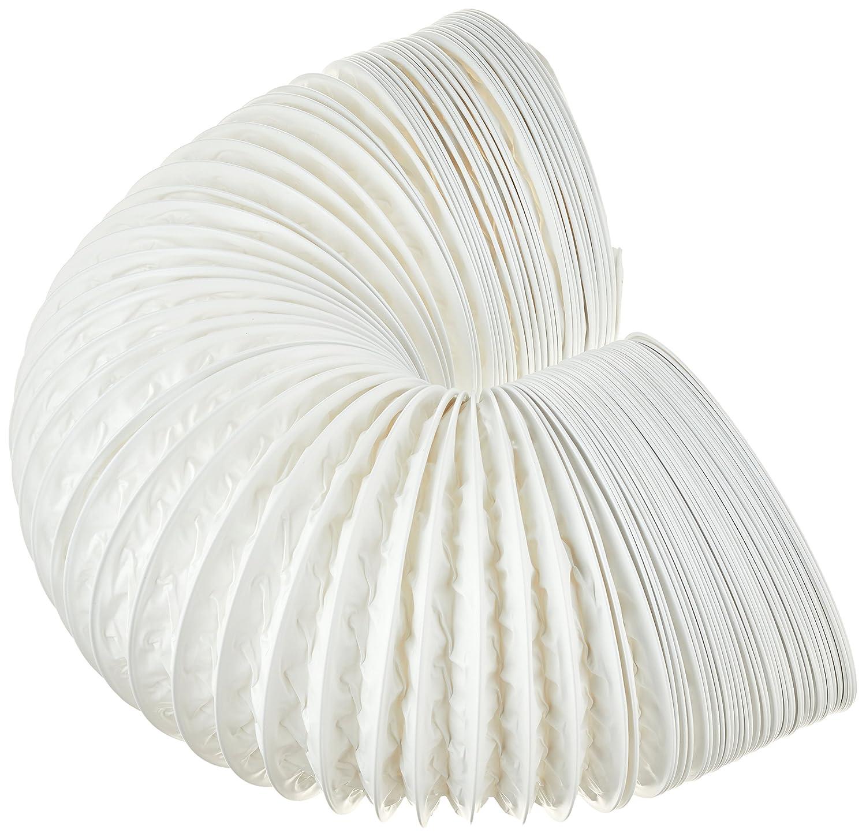 Tubo di scarico flessibile in PVC, Ø 100/102 mm, 5 m, ad esempio per climatizzatori, asciugatrice, cappa. -