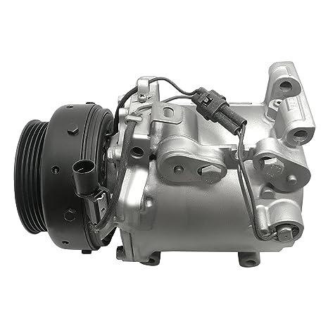 RYC GG402 - Compresor de CA remanufacturado y embrague A/C