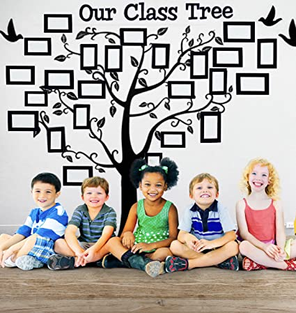 Our Class Tree School Classroom Decoration Wall Decal Sticker For