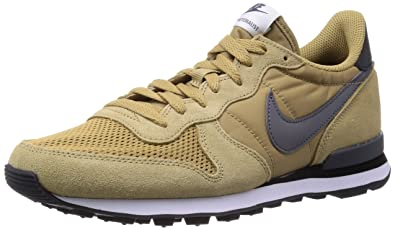official photos 53d3d e1429 Image Unavailable. Image not available for. Color  Nike Men s  Internationalist, HAY DARK GREY-BLACK-WHITE ...
