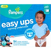 Pampers Easy Ups Training Pants Pull On Disposable Diapers for Boys (Size 4)
