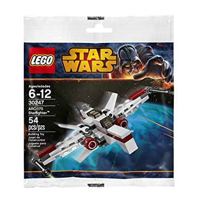 LEGO Star Wars 30247 ARC-170 Starfighter: Toys & Games