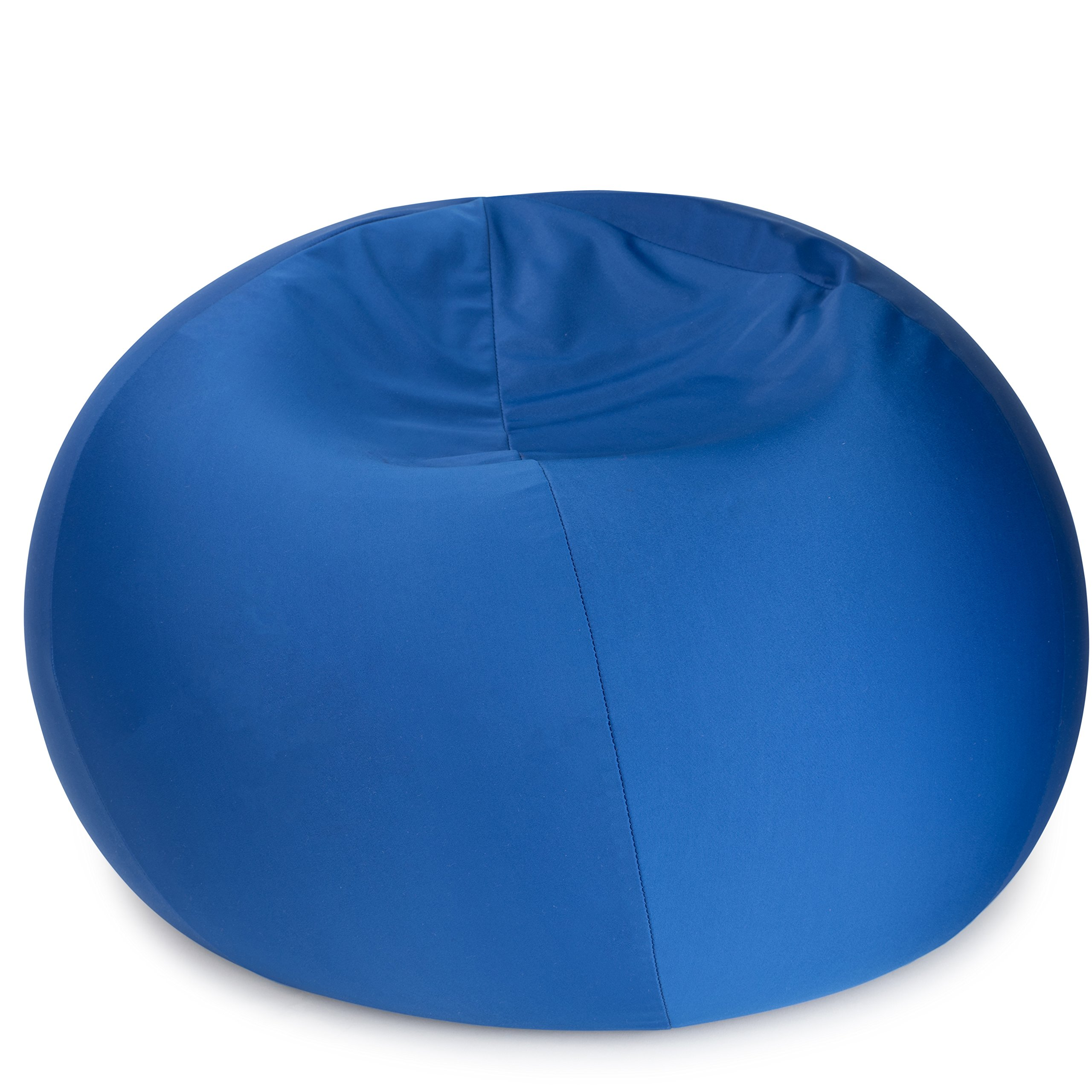 "Dash Sensations Blue Bean Bag Chair for Kids with Removable Machine Washable Cover - Tactile and Sensory for Sitting, Lounging and Playing - 18'' x 15'' (60"" Circumference) – by"